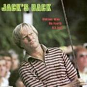 Jack Nicklaus, 1980 Us Open Sports Illustrated Cover Art Print
