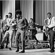 James Brown And Famous Flames At The Art Print