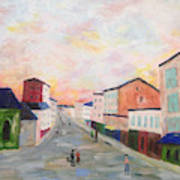 Japanese Colorful And Spiritual Nuance Of Maurice Utrillo Art Print
