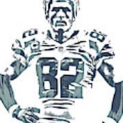 Jason Witten Dallas Cowboys Pixel Art 22 Art Print