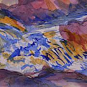 Jay Cooke Favorite Spot In Purple And Tan Art Print