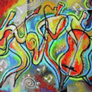 Jazz-swing Art Print