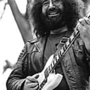 Jerry Garcia Performs Live Art Print
