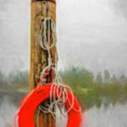 Jim Bouys Pole Art Print