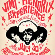 Jimi Hendrix Experience Art Print