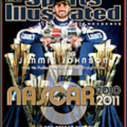 Jimmie Johnson, 2010 Sprint Cup Champion Sports Illustrated Cover Art Print