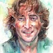 John Lennon Smiling Art Print