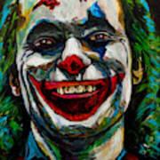 Joker Joaquin Phoenix Art Print