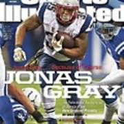 Jonas Gray . . . Because Of Course Jonas Gray The Sports Illustrated Cover Art Print