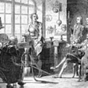 Joseph Black Visiting James Watt Art Print
