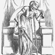Justice - For Ireland, 1866. Artist Art Print