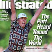 Justin Leonard, 1999 Ryder Cup Sports Illustrated Cover Art Print