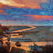 Kalaloch Creek 54 Art Print