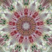 Kaleidoscope Valentine  Art Print