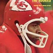 Kansas City Chiefs Woody Green Sports Illustrated Cover Art Print