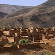 Kasbah Morocco Art Print