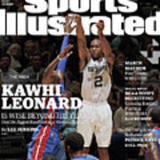 Kawhi Leonard, The Rock, Is Wise Beyond His Years Sports Illustrated Cover Art Print