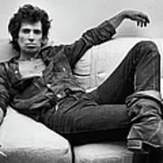 Keith Richards Portrait Session Art Print