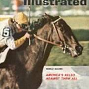 Kelso, 1961 Woodward Stakes Sports Illustrated Cover Art Print