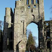 Kelso Abbey Ruin Art Print