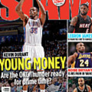 Kevin Durant: Young Money SLAM Cover Art Print