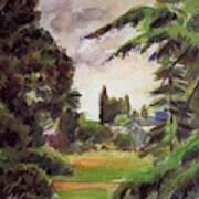 Kew Gardens, The Little Greenhouse, 1892 Art Print