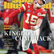 Kingdom Comeback Kansas City Chiefs, Super Bowl Liv Sports Illustrated Cover Art Print