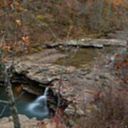 Kings River Waterfall Art Print