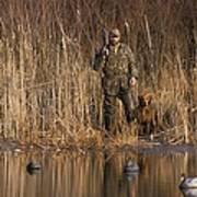 Kirk Gibson Goes Duck Hunting Art Print