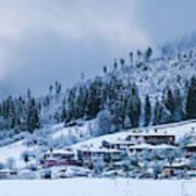 Koprivshtica Winter Panorama Art Print