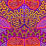Kuna Butterfly Art Print