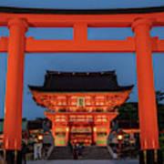 Kyoto Torii Gate Art Print