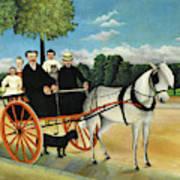La Carriole Du Pere Junier - Digital Remastered Edition Art Print