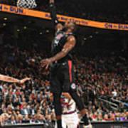 La Clippers V Toronto Raptors Art Print