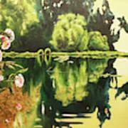 Lac D'or Art Print