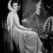 Lady Hamilton As The Spinstress Art Print