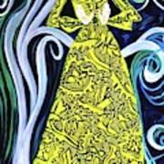 Lady Lou Art Print