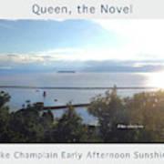 Lake Champlain Early Afternoon Sunshine Enhanced Poster Art Print