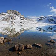 Lake La Ercina Art Print