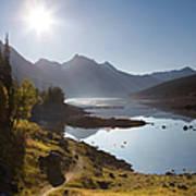 Lake Maligne - Jasper National Park Art Print