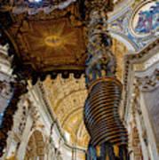 L'altare Di Bernini Art Print