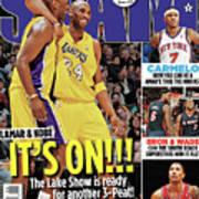 Lamar & Kobe: It's On!!! SLAM Cover Art Print
