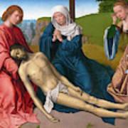 Lamentation Over The Body Of Christ Art Print