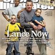 Lance Now Attacking His New Career Like He Did The Tour De Sports Illustrated Cover Art Print