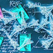Landmark Love Letter Art Print