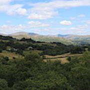 Landscape View From Little Langdale Art Print
