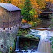 Lanterman's Mill In Fall Art Print