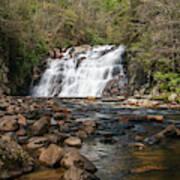 Laurel Falls In Spring I Art Print