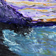 Lava Cove Art Print
