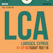 Lca Cyprus Luggage Tag I Art Print